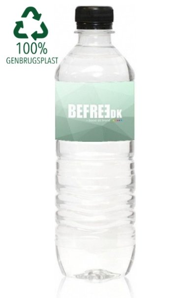 Klik for at åbne pdf guideline til vand med logo Comfort 0,50 cl
