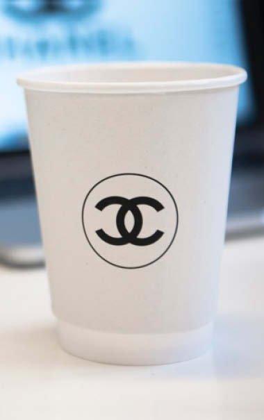 Papkrus med logo